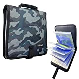 Thekuai Fishing Tackle Binder, Lure Bag, Soft Bait Binder, Organized Storage Rig Bag for Baits, Rigs, Jigs and Lines, Suitable for Fresh Water and Saltwater