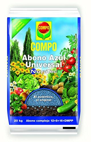COMPO Novatec Abono Azul Universal, Negro, 20kg