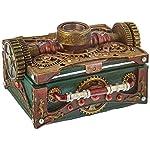 Steampunk Trinket / Jewelry Box Steam Punk W/ Compass 6