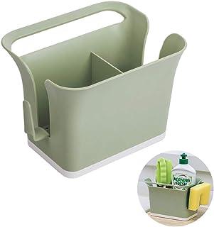 Xnuoyo Boîte De Rangement De Couverts en Plastique Organisateur De Caddy Bin, Baguettes Creuses Cage Ustensile Séchage Rac...