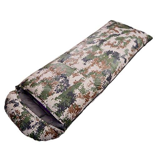 Enveloppe Canard Sac de couchage Imperméable à l'eau Automne et hiver Épaississement Extérieur Camping 210 * 80cm , 1 , 1800g