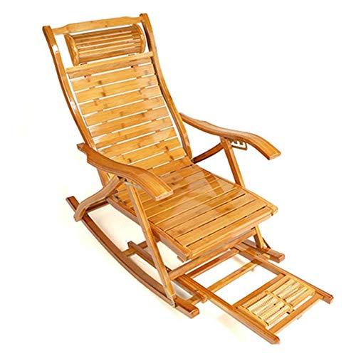 SHUILV Cómodo salón sillón cómodo Relajarse Mecedora Silla Plegable salón sillón Asiento hogar Relajarse Mecedora Silla