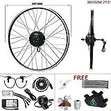 """Ebike conversion kit 27.5""""E-bike complete set 36V350W electric bike conversion kit cassette 27.5"""
