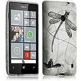 Seluxion-Carcasa para Nokia Lumia 520, diseño de libélula