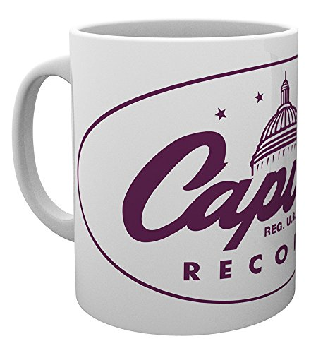 GB Eye Ltd, Capitol Records, Logo, Tasse, Keramik, Verschiedene, 15x 10x 9cm