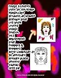 rouge à lèvres livre de coloriage maquillage produits de beauté pratique pour les yeux lèvres visage sourcil cils amusement pour femmes & Hommes avoir ... plaisir décorer cadeau créé par Grace Divine