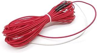 DZF697 1pc 12 mètres 120 Watts Flamme Chauffage câble de Chauffage en Fibre de Carbone Non Toxique PTFE Ligne de Fil étanc...