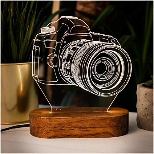 3D Illusion Nachtlampe 3D Nachtlicht 16 verschiedene Variationen Schreibtischlampe, Acryl, Geschenk für Ihre Menschen. LED Tischlampen mit verschiedenen Formen.