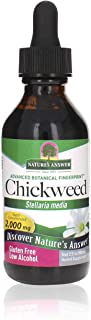 Sponsored Ad - Nature's Answer Chickweed Herb with Organic Alcohol, 2-Fluid Ounces | Promotes Healthy Skin | Helps with It...