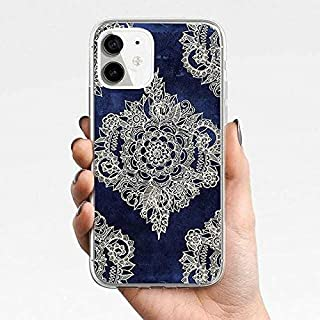 Silicone Mobile Phone Case For iPhone11, iPhone 11 Pro, iPhone11 Pro Max, iPhone12,iPhone12 Pro,iPhone12 Pro Max (Dark Blu...