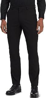 Men's Slim Fit Solid Suit Separate Pants Infinite Stretch
