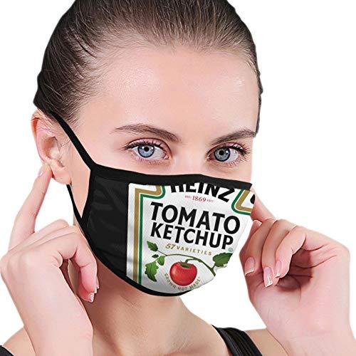 ghjkuyt412 Heinz Tomato Ketchup Seamless Dustproof Scarf Bandana Face Covers Reusable Scarf