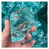 YSDSPTG Piedras Naturales Cristal de Cristal mar Azul Esmalte de...