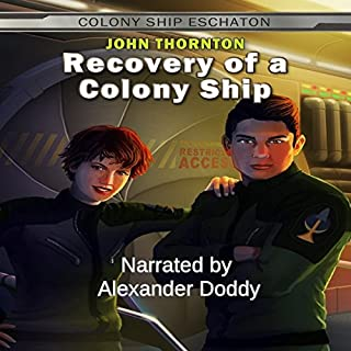 Recovery of a Colony Ship audiobook cover art