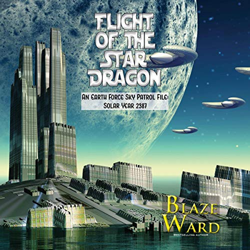 Flight of the Star Dragon audiobook cover art