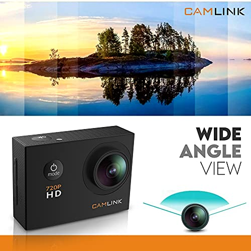 Camlink CL-AC11 720P HD Action Camera (Black)