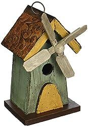 cute birdhouse designs - windmill woodcraft
