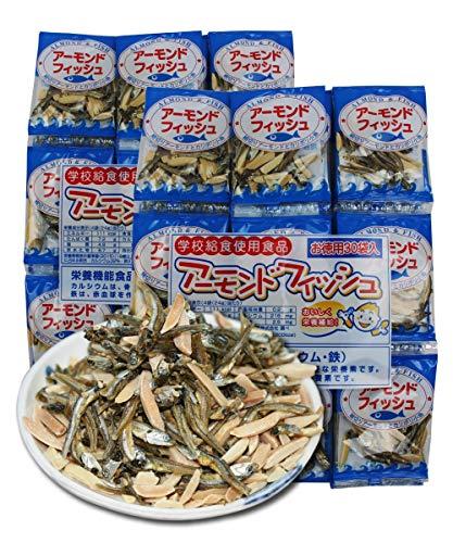 阿川食品 アーモンドフィッシュ 【6g×60袋】 小魚 アーモンド おつまみ おやつ 小袋 office27オリジナルパック