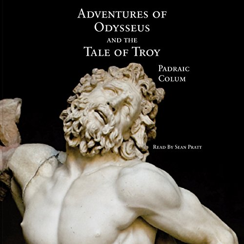 Adventures of Odysseus and the Tale of Troy audiobook cover art
