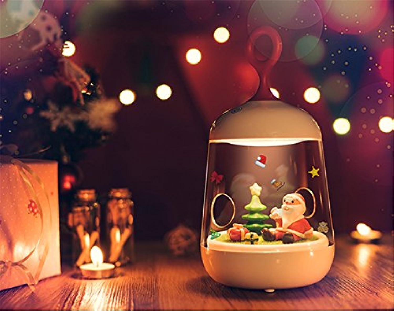 QIANGQI Weiß Christmas Nightlight Kreative Mode Nette Romantische Fantasie Lade Schlafzimmer Kinderzimmer 120  120  232mm