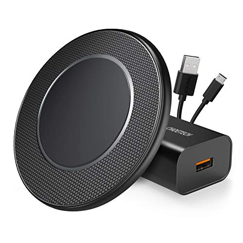 CHOETECH Wireless Charger, 15W Max Fast Wireless Charging Pad with QC 3.0 Adapter Compatible with iPhone 12/12 Pro/12 Pro Max/12 Mini/SE 2020/11 Pro Max/Xs Max/XR/X/8, Galaxy S20/Note 10/S10, LG V30
