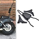 Ambienceo Motorcycle Sissy Bar Passenger Backrest Cushion Pad Seat Detachable For Harley Davidson Harley Sportster XLH883 XL883R XL883C XLH1200 Black