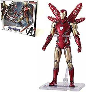 TOYFigures 7 inch Marvel MK 85 Iron Man The Avengers 4 Iron Spider Man Amazing Spiderman Movable Action Figure Model Toys for Children