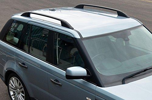ALVM Parts & Accessories Schwarzer Aluminium-Dachträger für Range Rover Sport (2005–13)