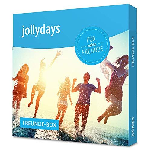 Jollydays Freunde-Box | Gutschein für eines aus über 400 Erlebnissen | Erlebnis-Geschenkbox | Geschenk für Gute Freunde