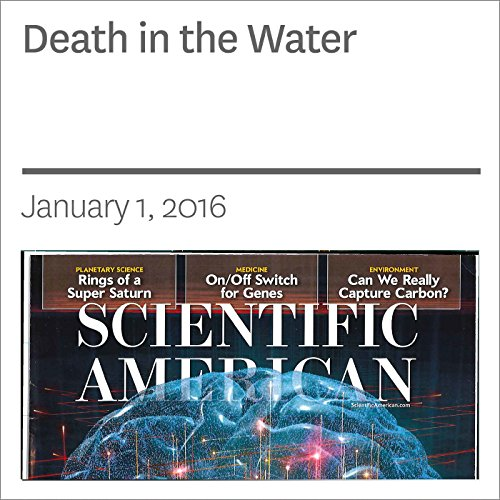 Death in the Water audiobook cover art