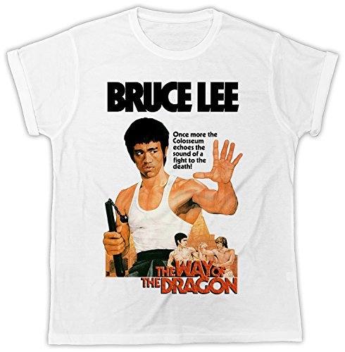 Bruce Lee The Way of The Dragon Movie Poster Cooler Spruch, Slogan, lustiges Design, Geschenkidee