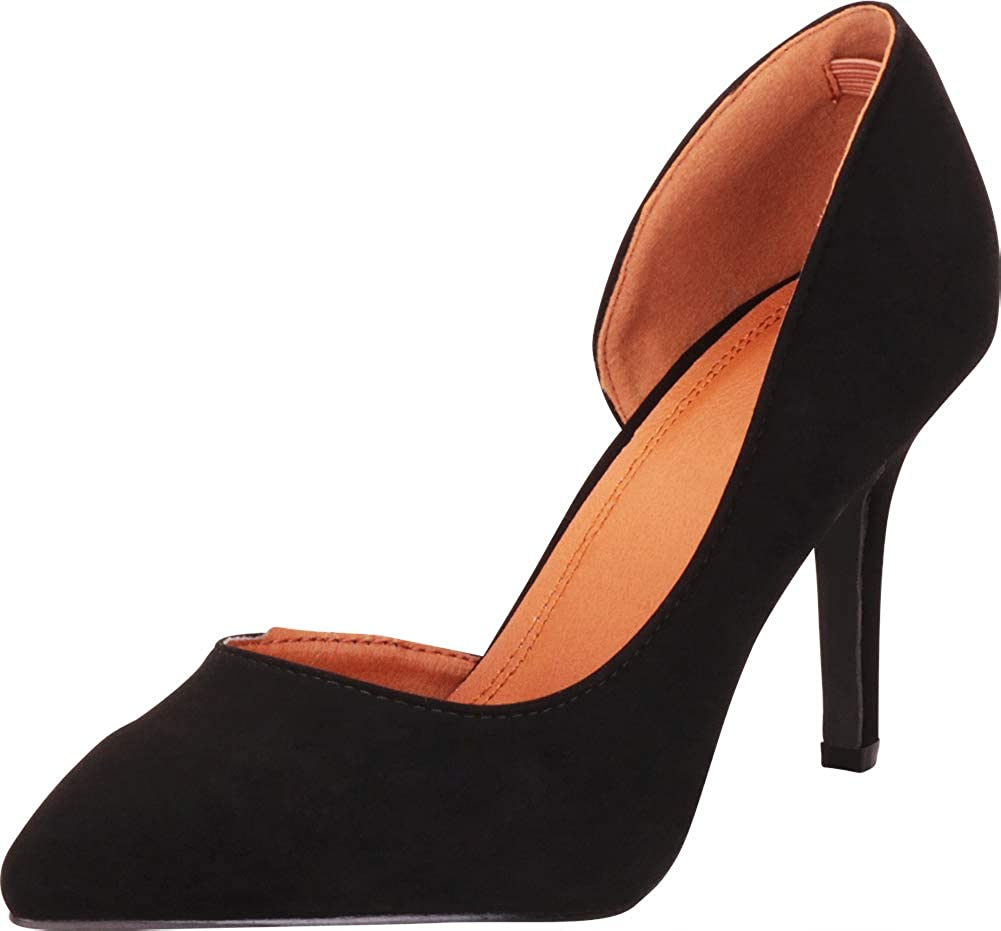 Cambridge Select Women's D'Orsay Classic Pointed Toe Closed OFFicial Max 45% OFF store Insi