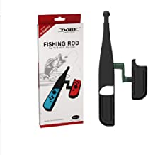Caña de pescar para Nintendo Switch Joy-Con, Kit de juego de pesca para controlador de interruptor, Kit de bajo de pesca.