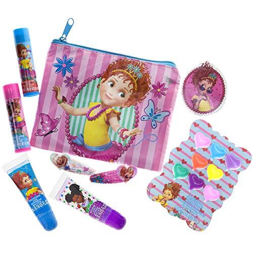 Fancy Nancy Beauty Kit, Kids Washable, Lip balms, glosses, press on nails, gems, stickers, barrettes & more