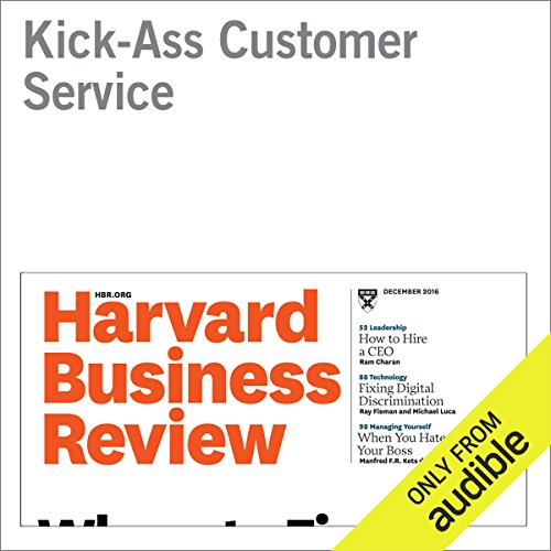 Kick-Ass Customer Service audiobook cover art