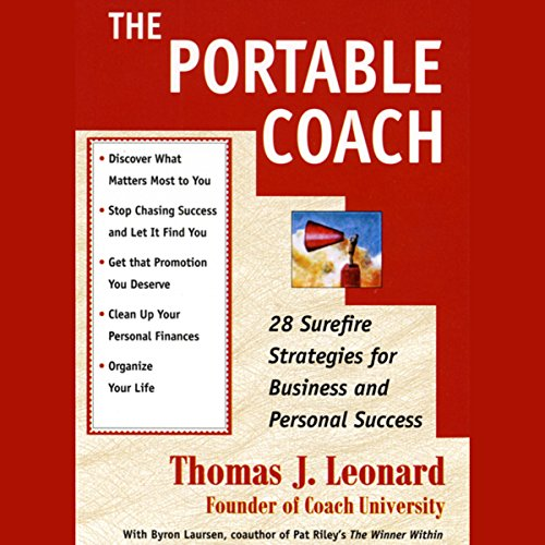 The Portable Coach audiobook cover art