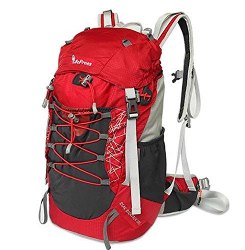 sac à dos randonnée sac hommes et les femmes forfait alpinisme randonnée de camping en plein air 30L épaule Sacs à dos de randonnée ( Couleur : Rouge , taille : 30L )