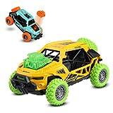 JAMSWALL Juguete Coches,2 Packs coche de juguete con música y Cuerpo de...