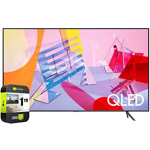 SAMSUNG QN65Q60TAFXZA 65 inch Class Q60T QLED 4K UHD HDR Smart TV 2020 Bundle with 1 Year Extended...