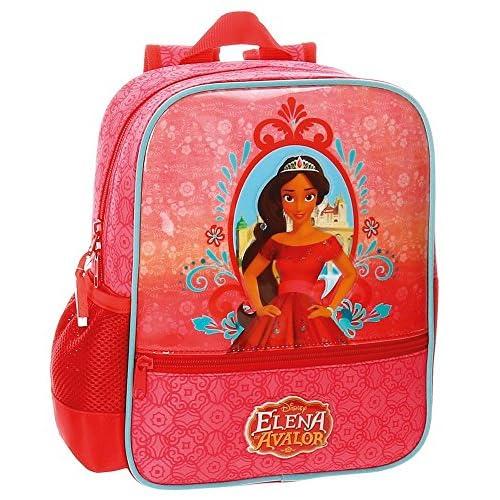 Disney zaino dei bambini, 28 cm, 6.44 liters, Rosso