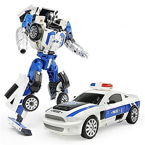 WAWAYU Juguetes de deformación, Niño Aleación Deformation Ares Deformation Toy Coche Robot Modelo de Regalo de Juguete