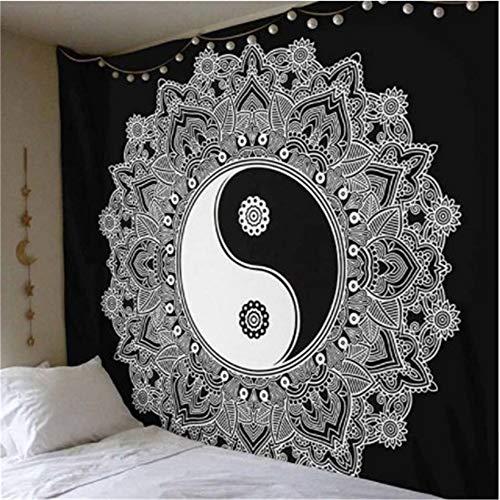 Comeyang Mandala in Stile, da Appendere alla Parete, Stile Hippy e New Age, Dorm Decor Psychedelic Tapestry, Wall Hanging,Coperta da Parete Decorativa in Stoffa di Elefante 1 150 * 200 cm