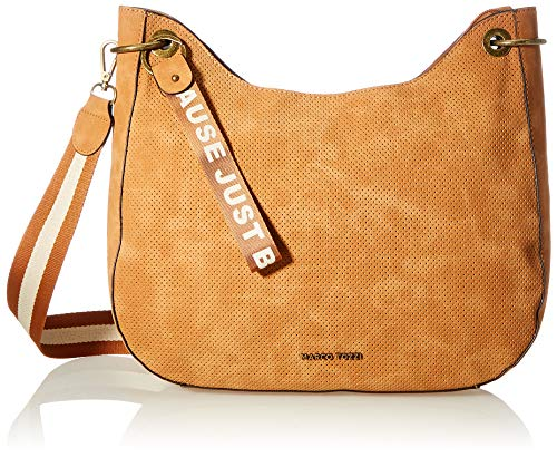 MARCO TOZZI Damen Handtasche 2-2-61016-26, Cognac, normal