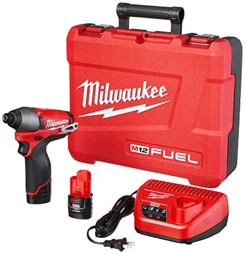Milwaukee 2453-22 M12 Fuel 1/4 Hex Impact Driver...