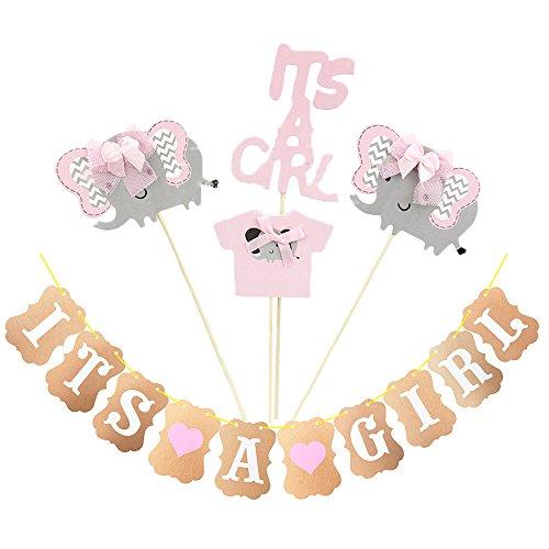 DISEÑO ADORABLE: Estos baby shower toppers de la magdalena pueden ayudarle a decorar sus cupcakes perfectamente. DECORACIÓN LO QUE QUIERES: Puedes tener tus propias ideas para decorar pasteles, frutas, helados y diseñar lo que quieras. MATERIAL DEL P...