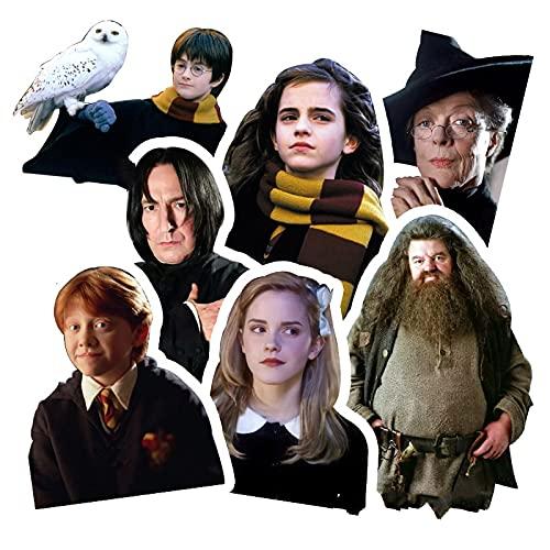YMSD Harry James Potter Laptop Hermione Jean Granger Pegatinas Monopatín Personalizado Equipaje Coche Impermeable Pvc Etiqueta