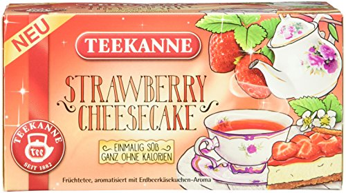 Teekanne Strawberry Cheesecake, 12er Pack (12 x 41 g)