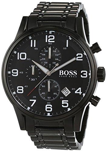 Hugo Boss Aeroliner Cronografo al quarzo da Uomo in acciaio inox 1513180.