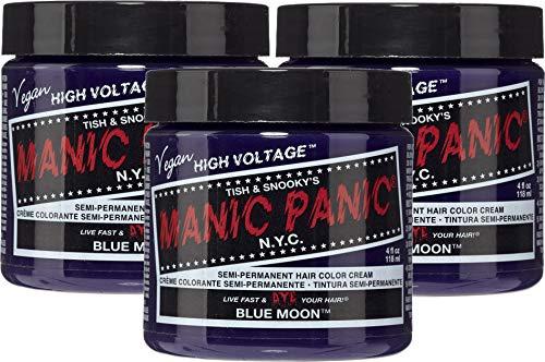 Manic Panic Semi-permanente Haarfarbe in Ultra-Violett, 113,4 g