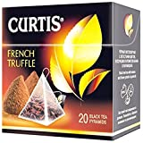 [2 PACK] Black tea Curtis french truffle Beverages Grocery Gourmet Food [20 pyramids of tea bags in 1 PACK]